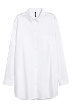Oversized shirt - White - Ladies | H&M 2